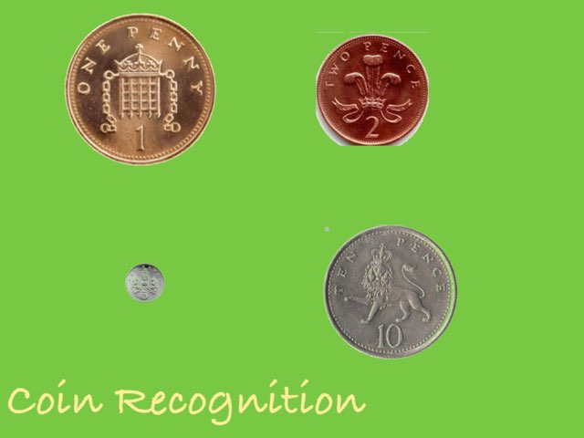 Coin Recognition To 10p by Deborah Fletcher