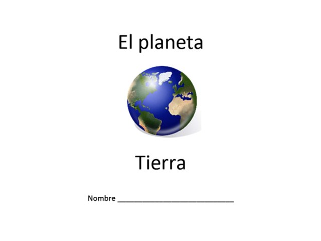 El planeta Tierra by Allison Shuda
