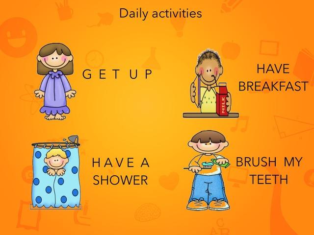 Daily Routines by Anna Saperas Casanovas
