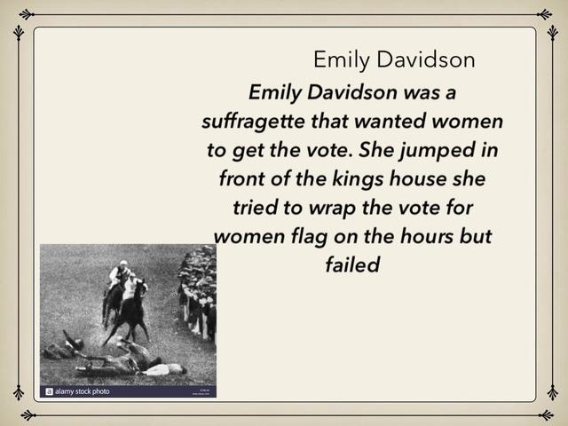 Euan Garland Suffragettes by Childer Thornton