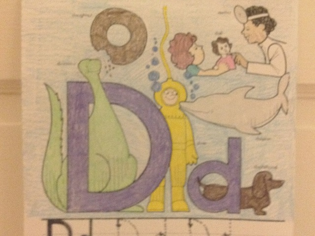 Letter D by Christine Snow