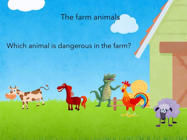 Farm Animals by Isra Alsumaiti