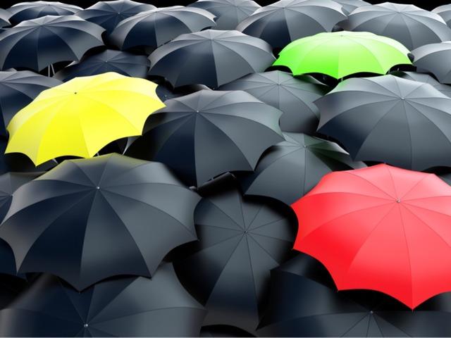 Umbrella ☂ Game  by Yam Goddard