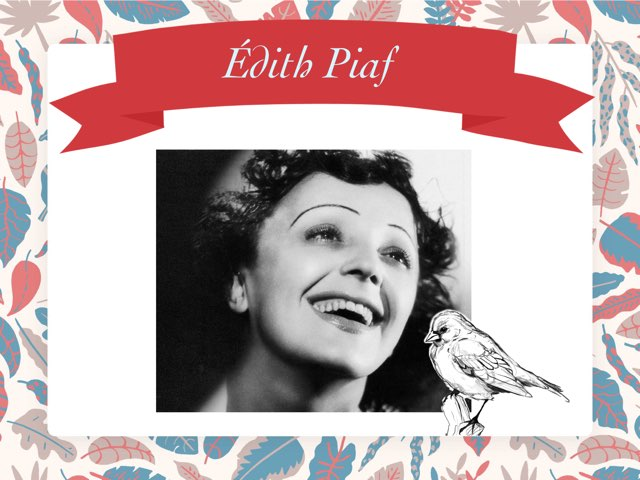 Édith Piaf by Hélène Tran