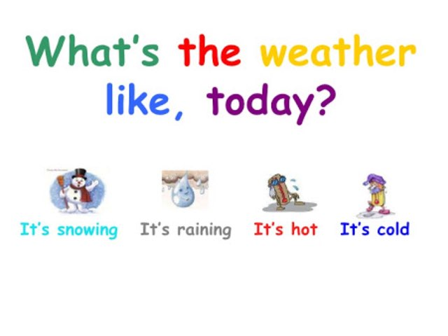 What's the weather like? by Daniela Rossi