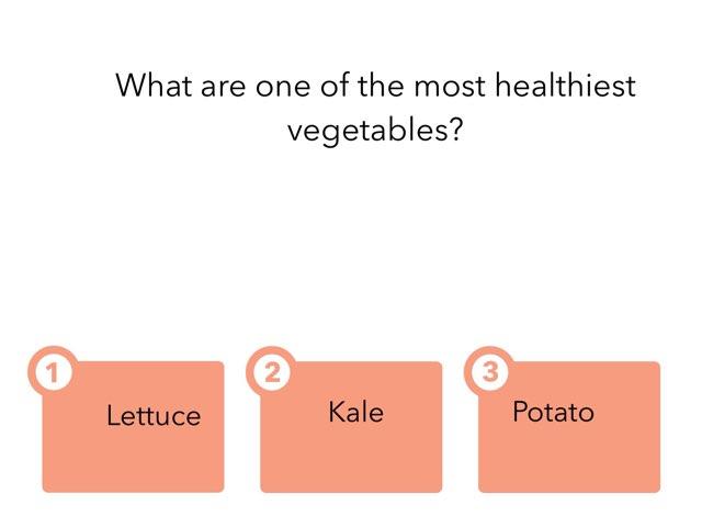 Veggie Quiz by Jennifer Borosh