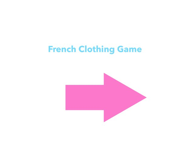 Clothing Game by Colette Travers