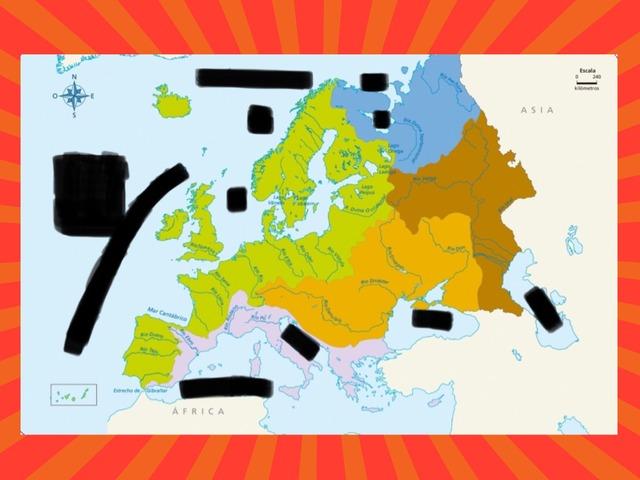 Vertientes Y Limites Geográficos De Europa by Pelayo Ocon Gomez