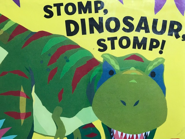 Stomp, Dinosaur, Stomp! 2 by Lori Board