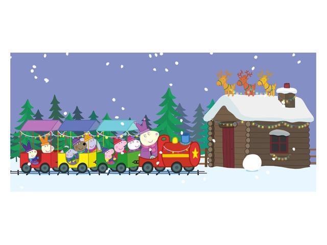 Peppa Christmas  by Barbi Bujtas