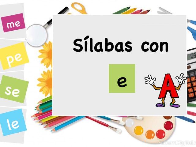TECC Sílabas con E by Sara Burgueño Peña