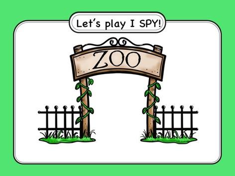 I Spy At The Zoo! by Christina