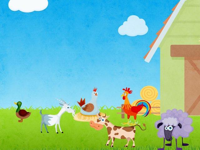 Farm animals by Pilot Elementary