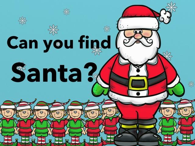 Find Santa by Yam Goddard