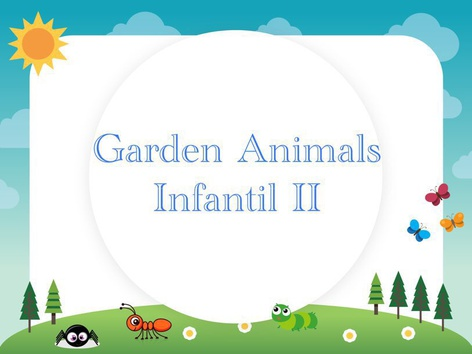 Garden Animals Infantil II by Thais Baumgartner