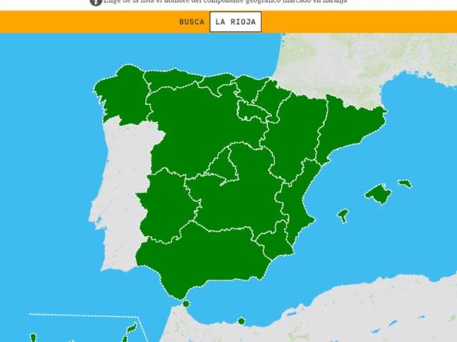 Comunidades Autónomas by Marcos Rodriguez Carrasco
