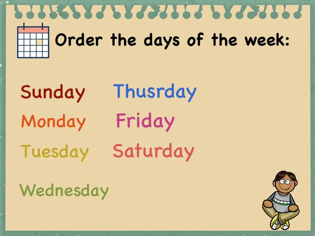 Days Of The Week by Lamyaa Abdulaziz
