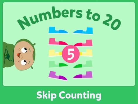 Skip Counting by Miss Humblebee