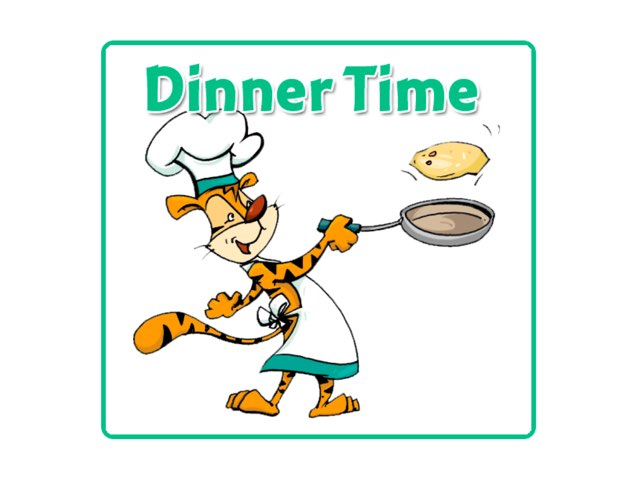 DINNER TIME GAME by Tiger Time