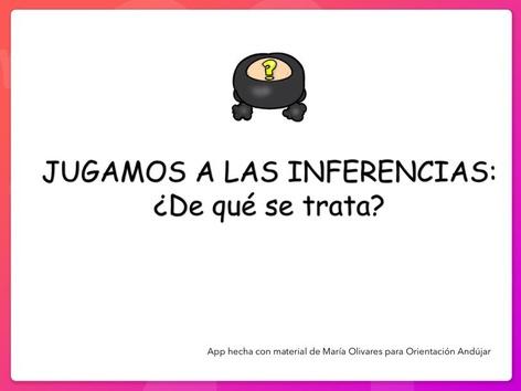 Inferencias ¿De Qué Se Trata? by Zoila Masaveu