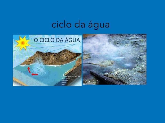 ciclo da agua  by Pueri digital verbo divino