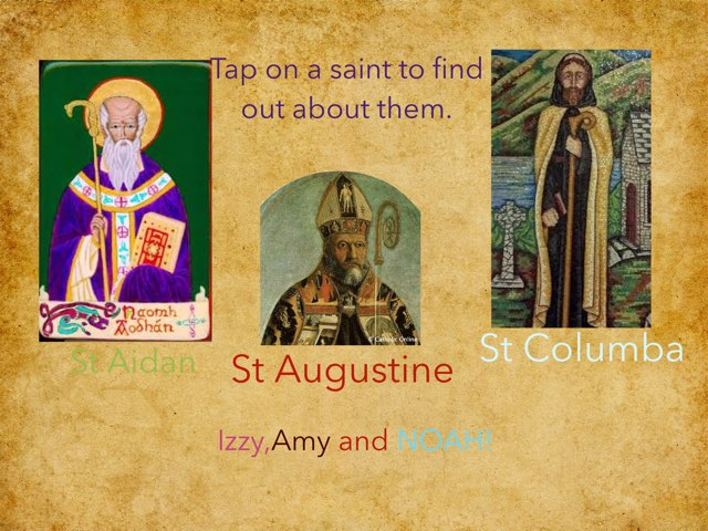 Do you want to learn about the saints? If you do read this! by RGS Springfield
