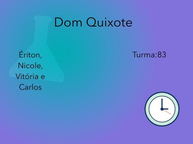 Dom Quixote Copy 2 by Rede Caminho do Saber