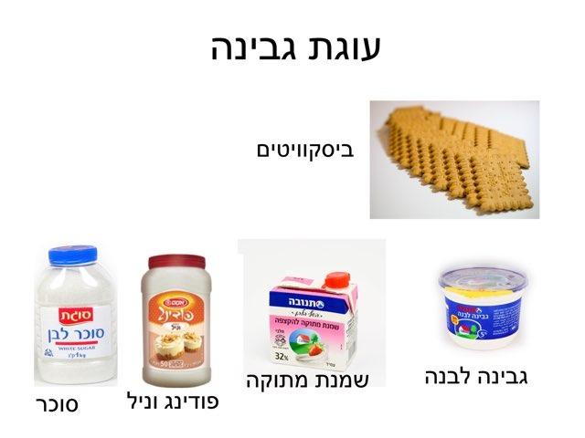 עוגת גבינה by gan meshi