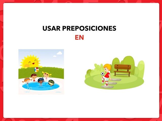USAR PREPOSICIONES: EN by Francisca Sánchez Martínez