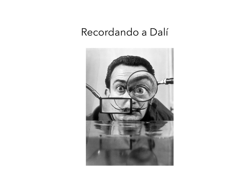 Recordando A Dalí by Beatriz Merino
