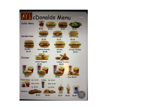 Ordering Food by Hannah Herrera