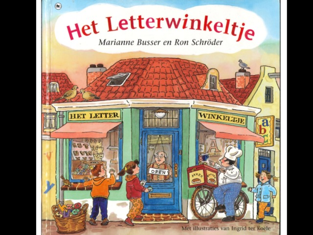 Het Letterwinkeltje by Aaron Willaert