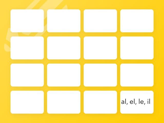 Al Il El Le  by Mr Brooke