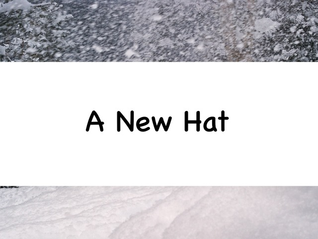 A New Hat by Rebecca Jarvis