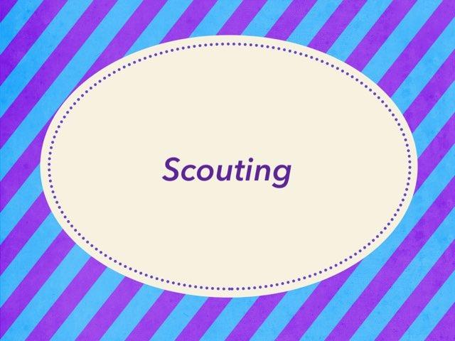 Scouting  by dalia daliasakr