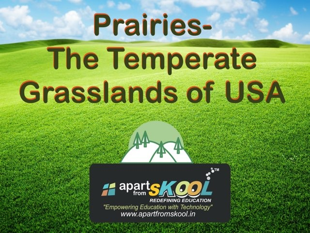 Prairies- The Temperate Grasslands Of USA by TinyTap creator