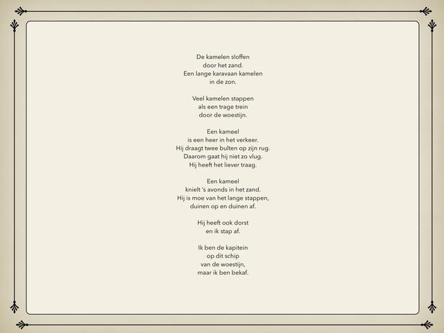 Gemengde Opdrachten Bij Een Gedicht Blauw Blik by Michelle Rogiers