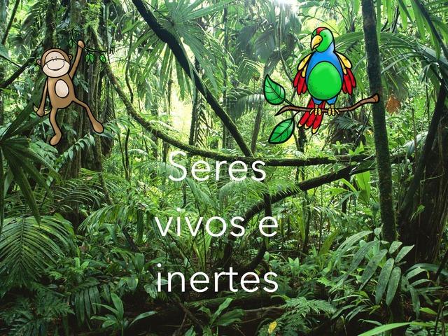 Seres Vivos E Inertes by Maia TinyTap
