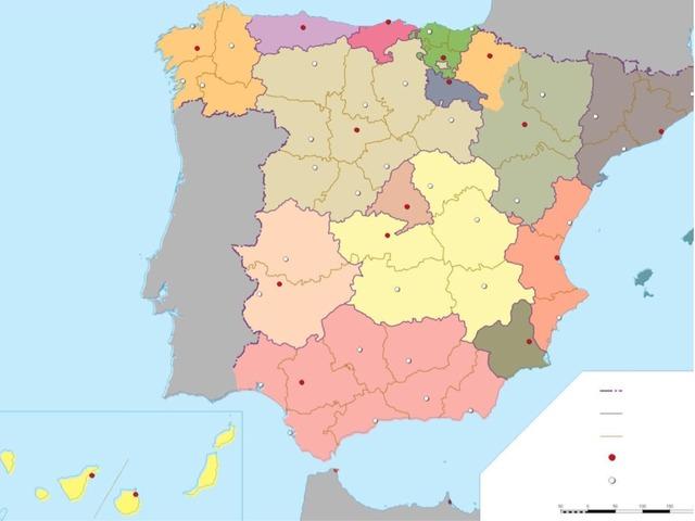 Mapa España by Carla García