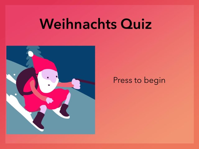 German Christmas Quiz by Josh Dobos