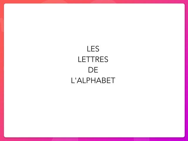 Les Lettres De L'alphabet by Emeline Legrand