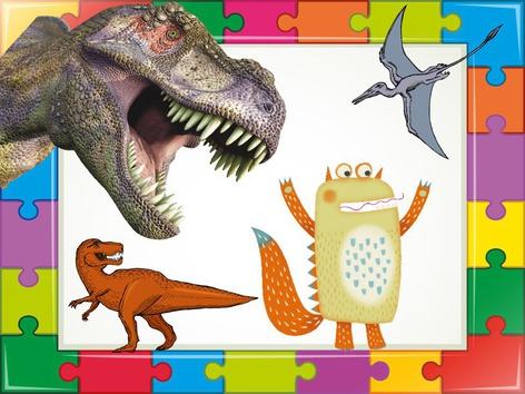 Dinosaur Puzzle  by Liat Bitton-paz
