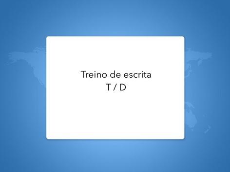 Treino De Escrita (T / D) by Lea Santos