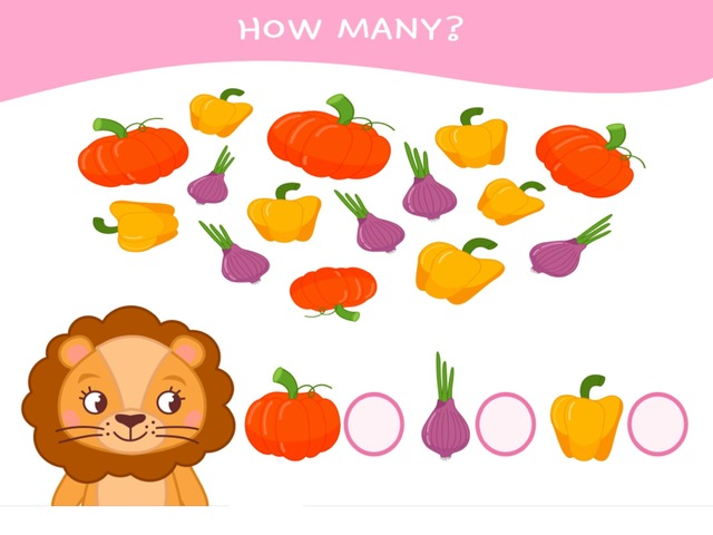 How Many? Fruits And Vegetables by Hadi  Oyna