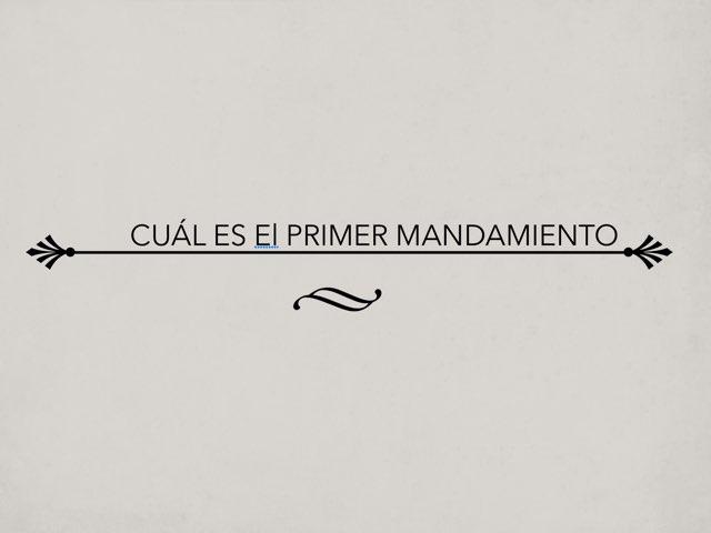 LOS MANDAMIENTOS by Felix Arévalo