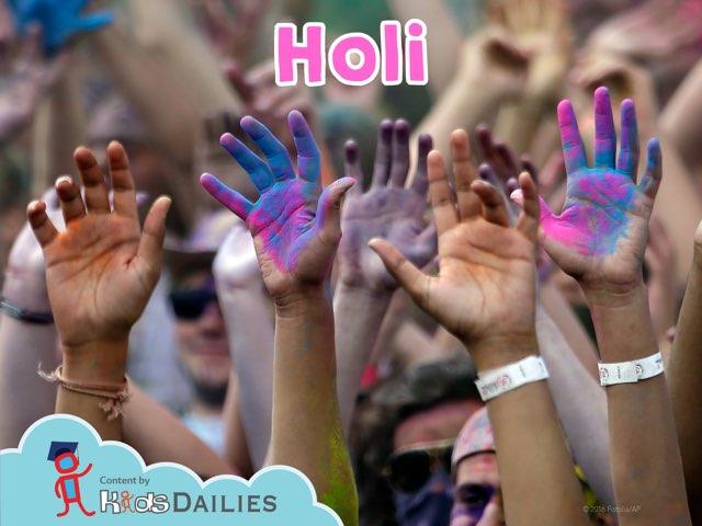 Holi by Kids Dailies