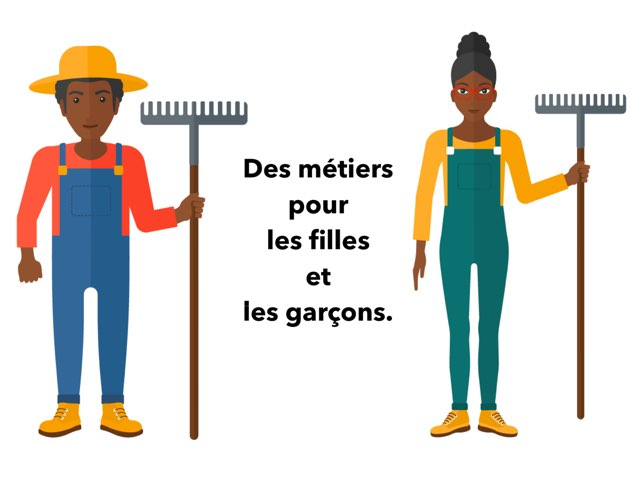 Des métiers pour les filles et les garçons by Ecole élémentaire Saint-Jean-Rohrbach