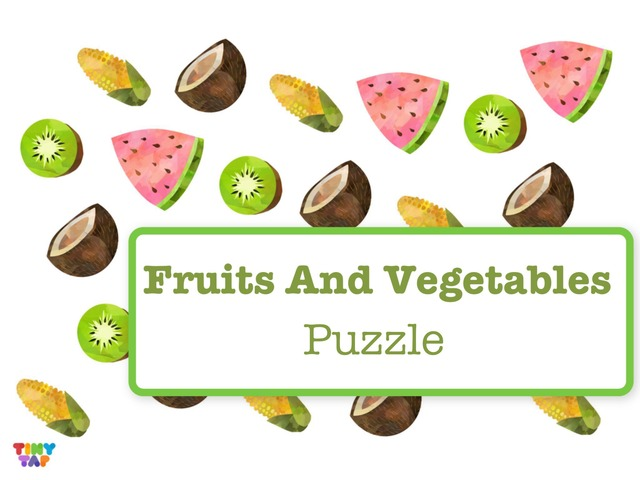 Fruits And Vegetables Puzzle by Hadi  Oyna