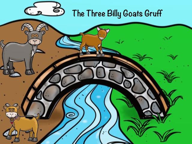 The Three Billy Goats Gruff by Joanne