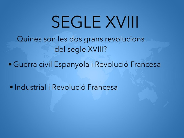 Preguntes Segle XVIII,XIX,XX by Héctor Ruescas audivert
